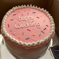 Custom Cake (Vanilla base)