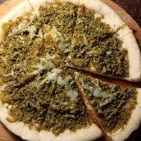 Matcha Crust Pizza
