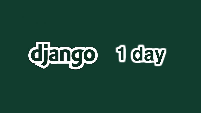 Học Django trong 1 ngày