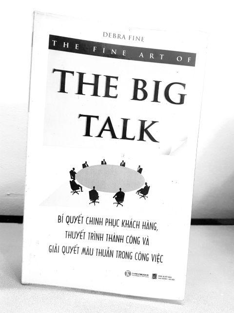 The fine art of the big talk - book