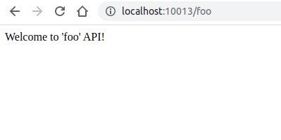 odoo controller - foo api returns