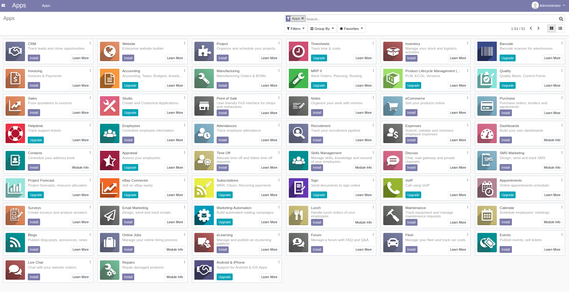 odoo 13 apps