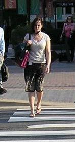 pedestrian woman