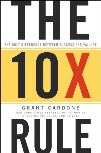 10X Rule by Grant Cardone book summary