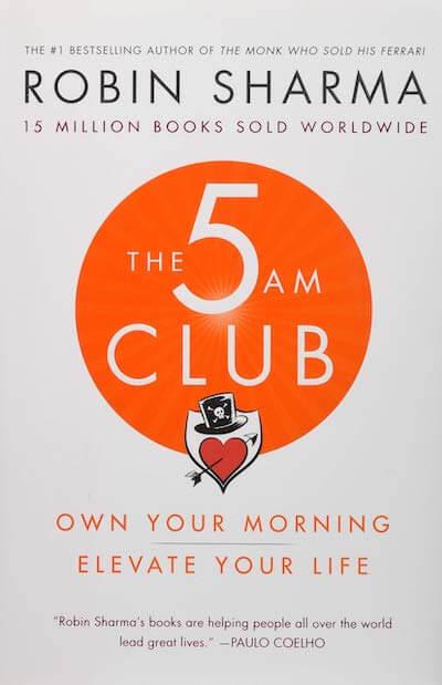 book summary - The 5 AM Club by Robin Sharma