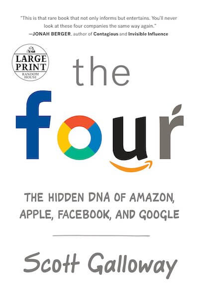 book summary - The Four by  Scott Galloway