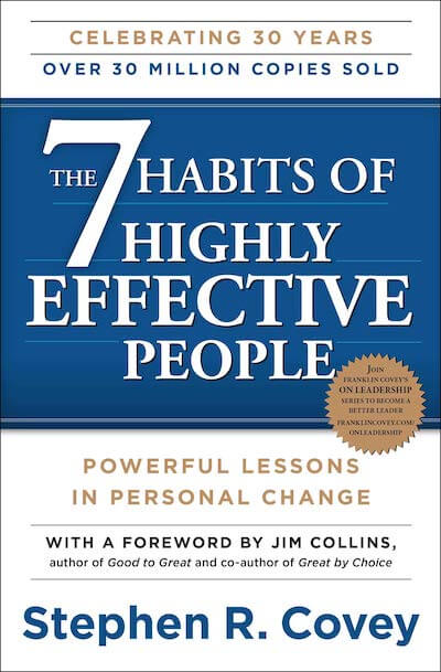 book summary - The 7 Habits of Highly Effective People by Stephen Covey