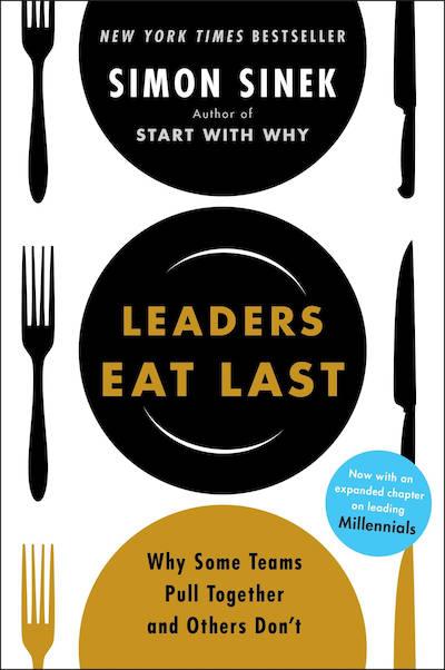 book summary - Leaders Eat Last by Simon Sinek
