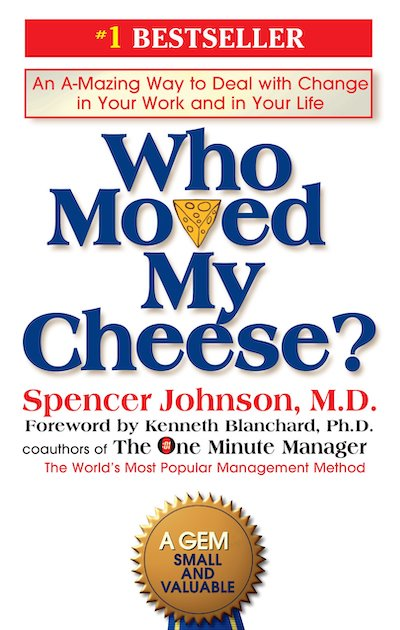book summary - Who Moved My Cheese by Spencer Johnson