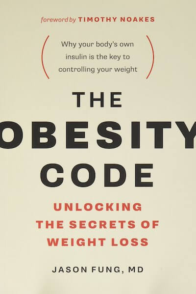 book summary - The Obesity Code by Dr. Jason Fung