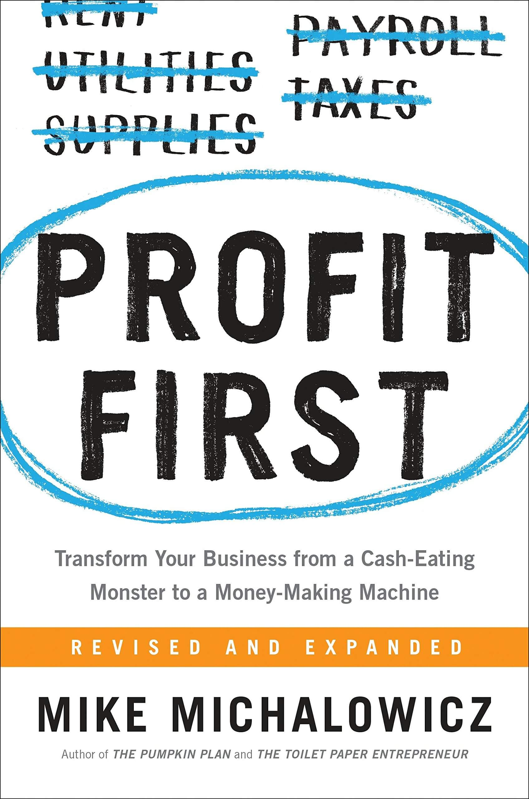 book summary - Profit First by Mike Michalowicz