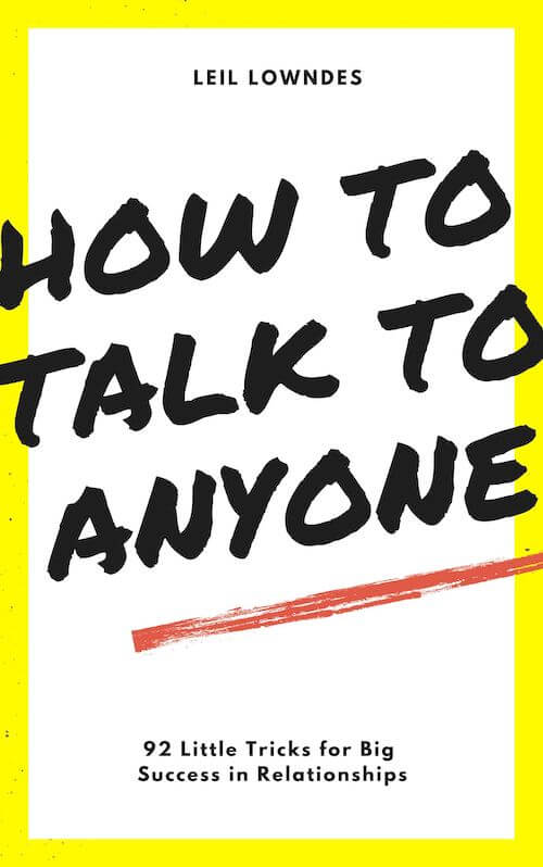 book summary - How to Talk to Anyone by Leil Lowndes