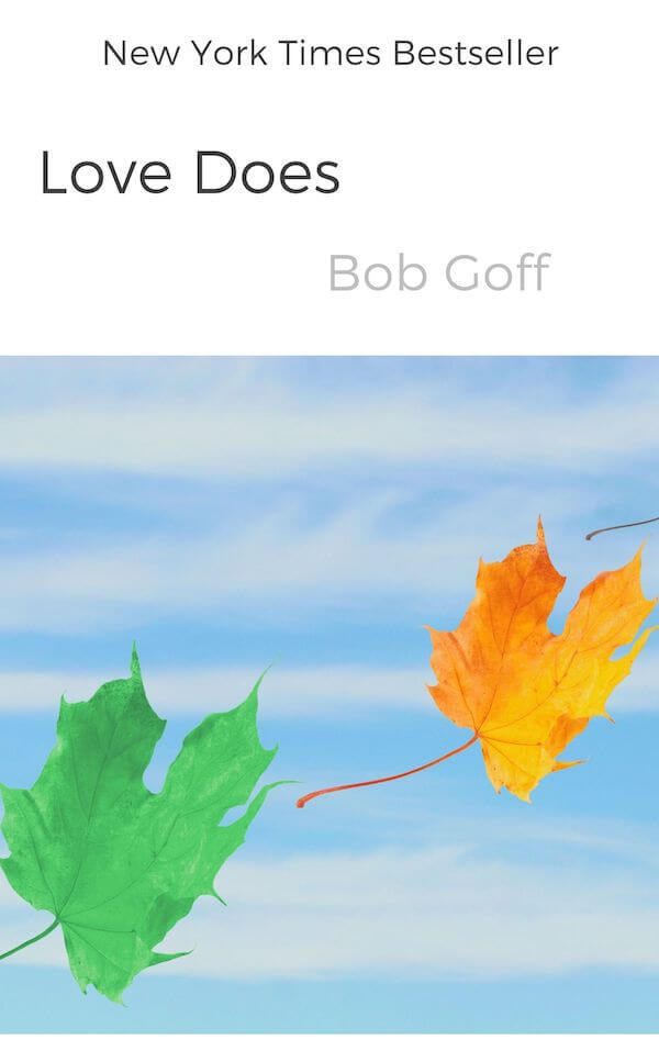 book summary - Love Does by Bob Goff