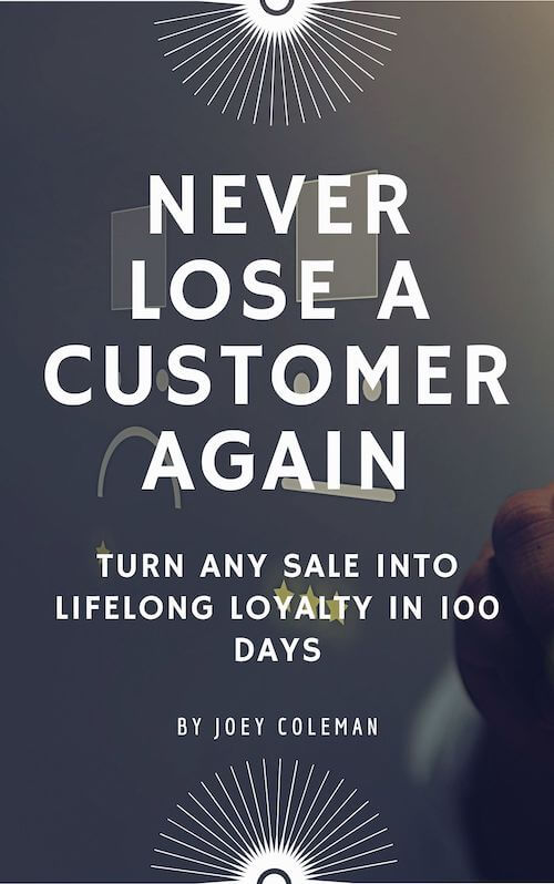 book summary - Never Lose a Customer Again  by Joey Coleman