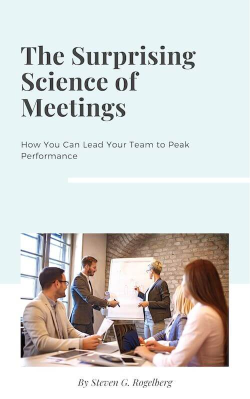 book summary - The Surprising Science of Meetings by Steven Rogelberg, Ph.D.