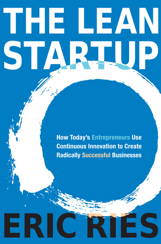 book summary - The Lean Startup by Eric Ries