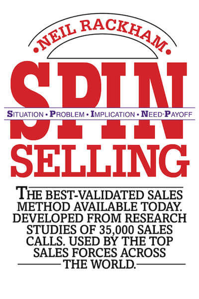book summary - Spin Selling by Neil Rackham