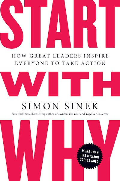 book summary - Start With Why by Simon Sinek