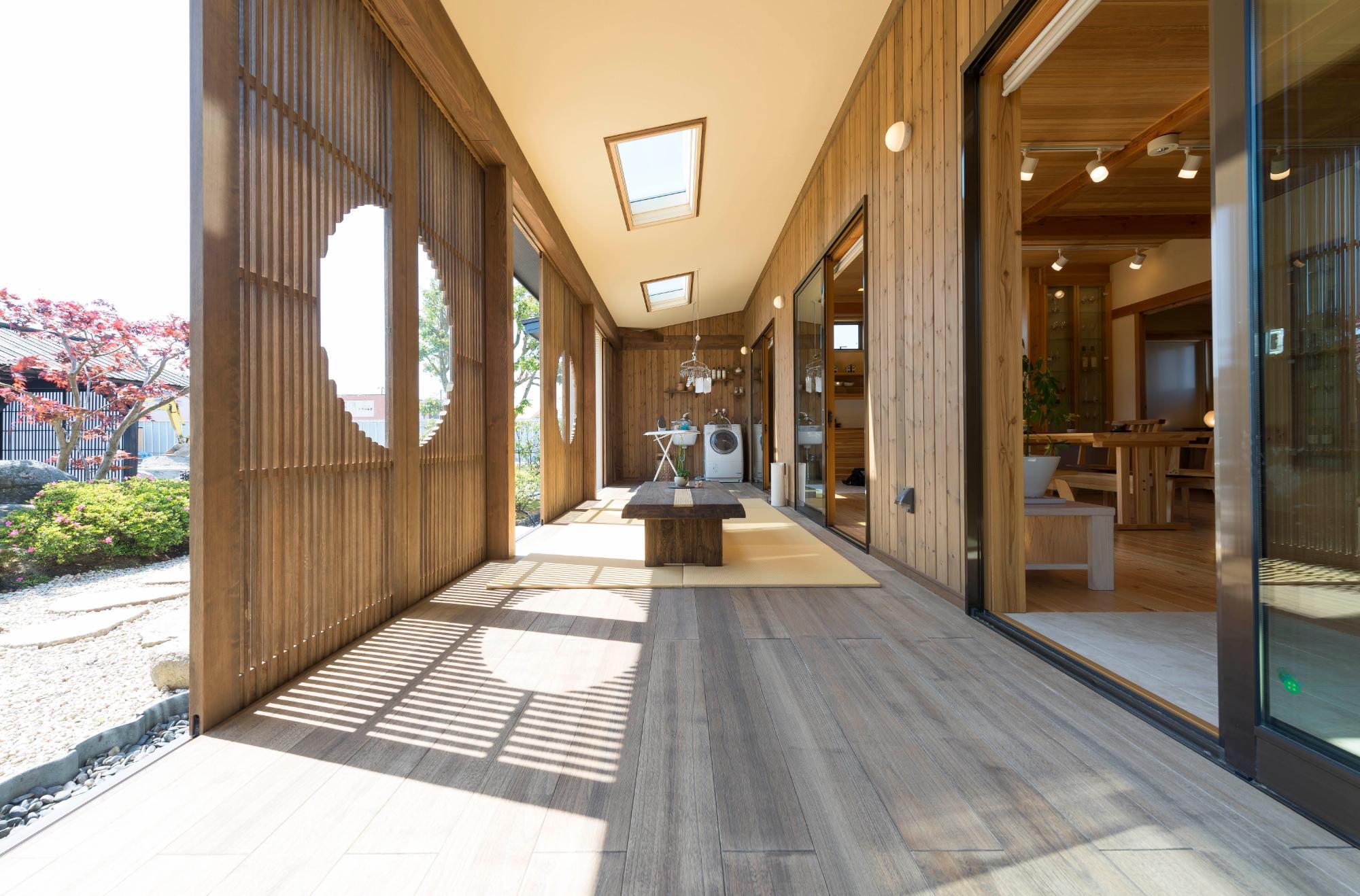 シンプルを極めた本物の無垢材規格住宅(郷の家)の写真6