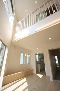 光を招く家の写真3