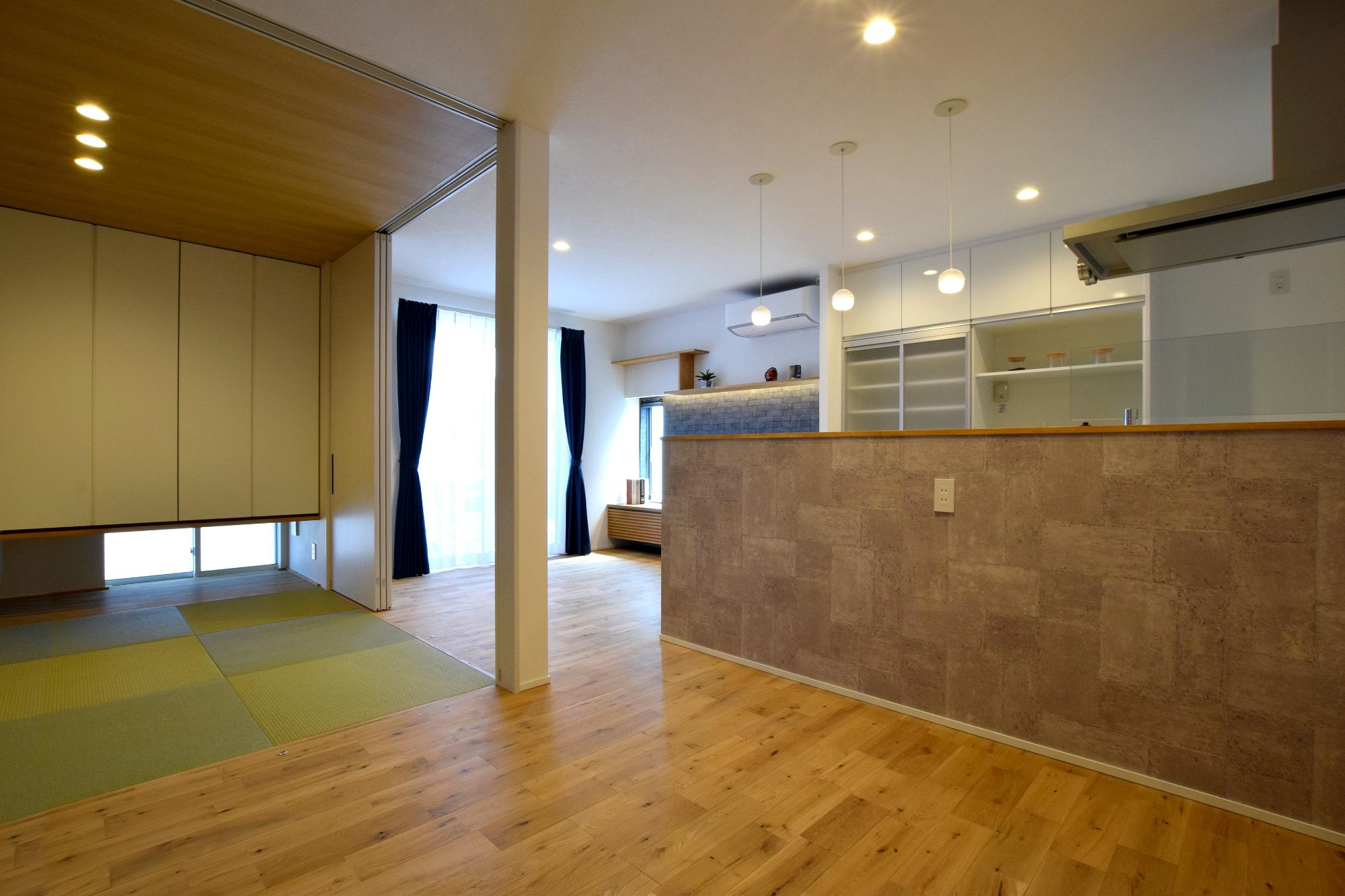 機能性高く快適に巣まう2世帯住宅の写真4