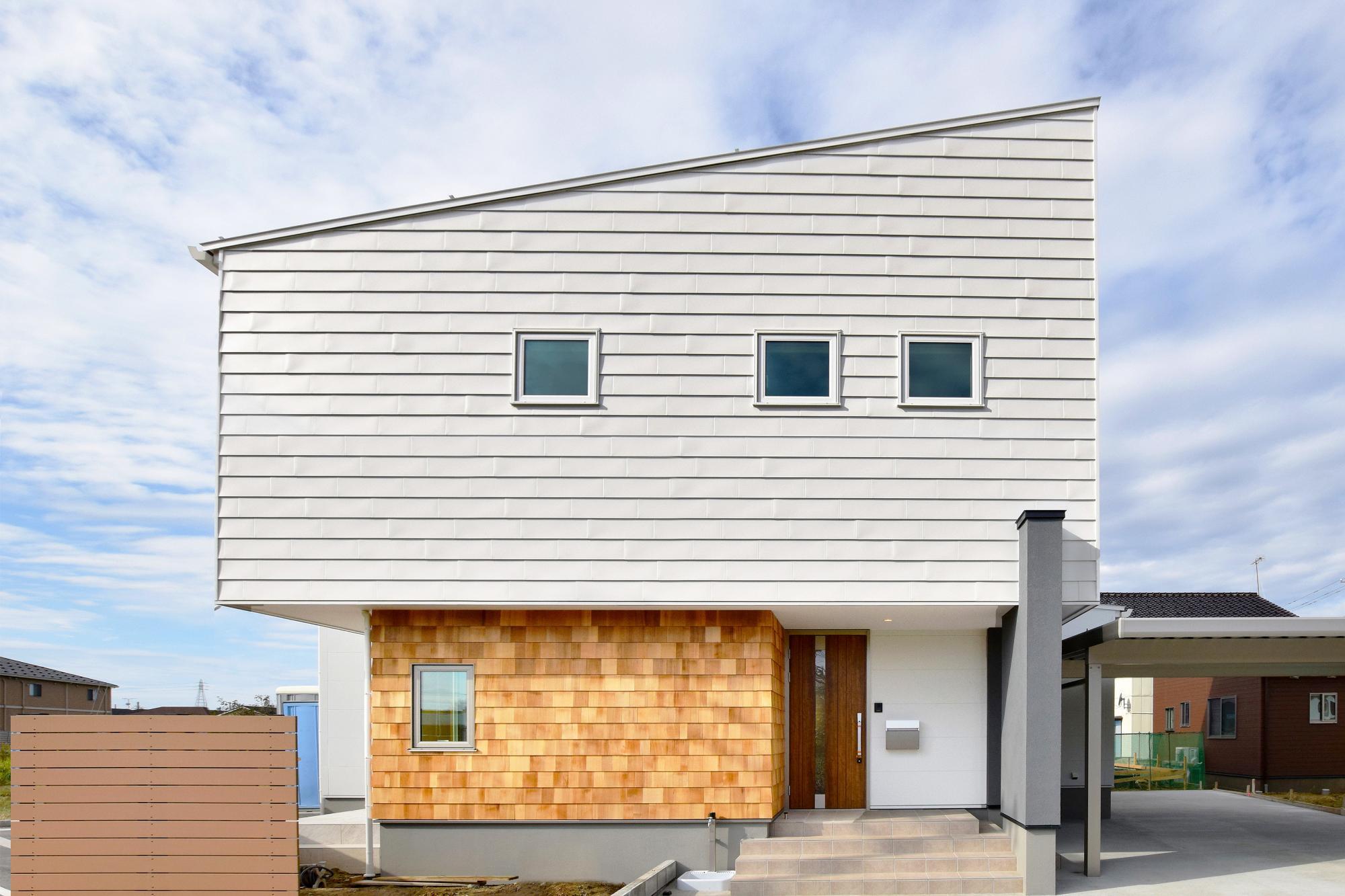 エアコン1台で全館暖房の家の写真1