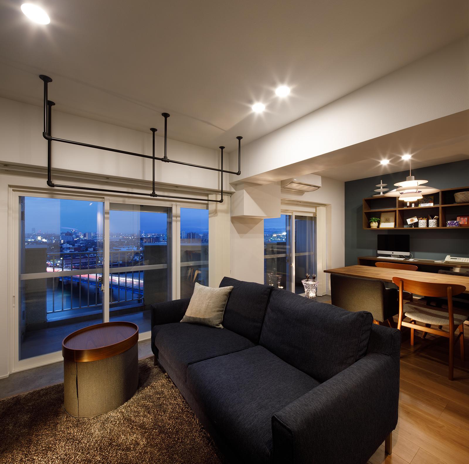 眺望のあるマンションリノベーションの写真10