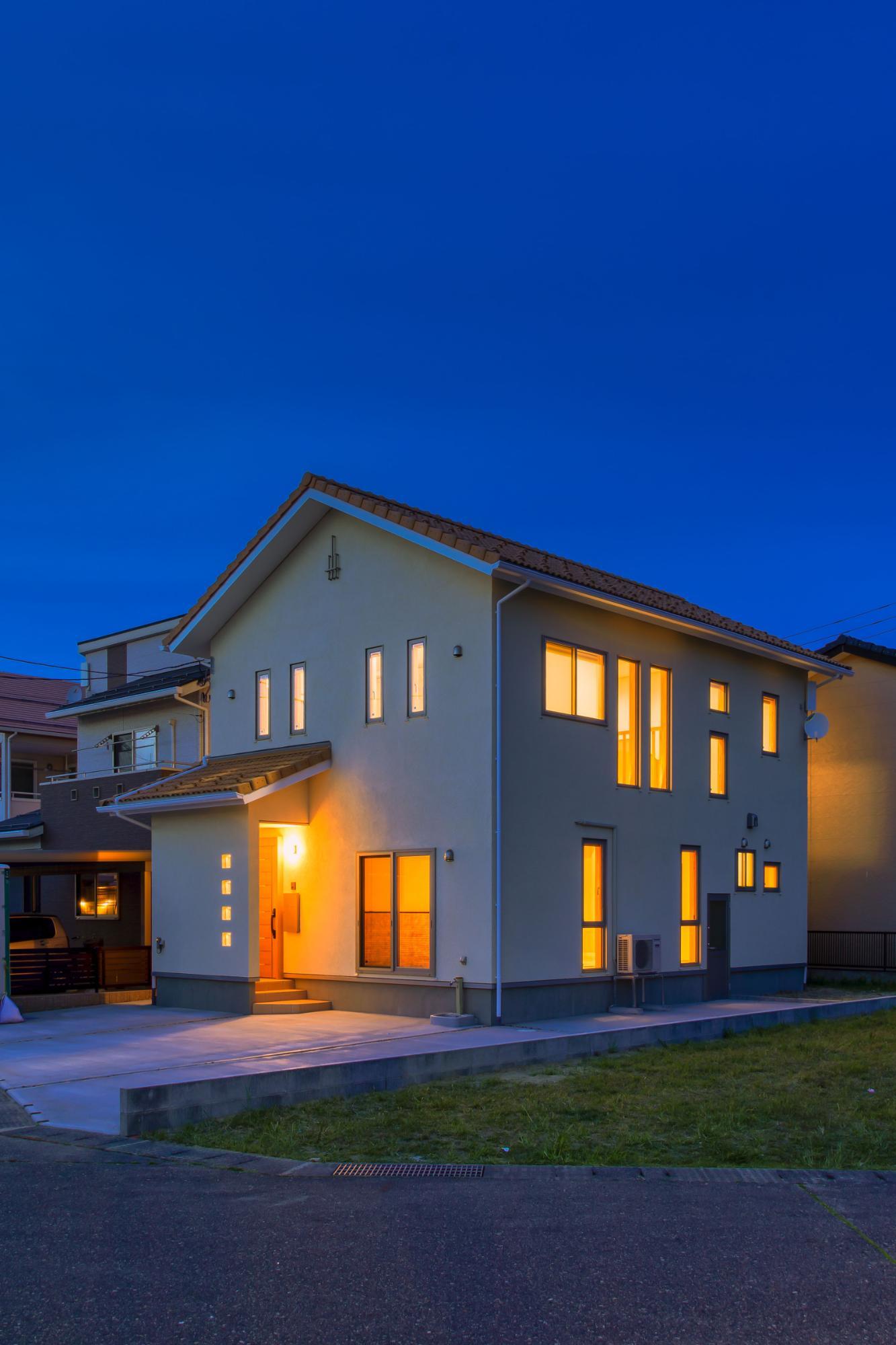 家族が元気に暮らせる省エネの家の写真2