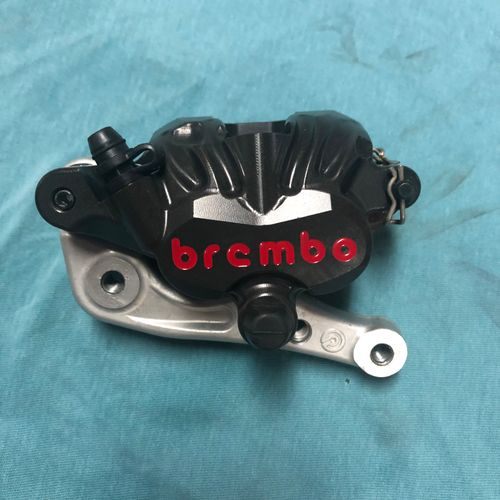 Factory KTM Brembo front brake caliper
