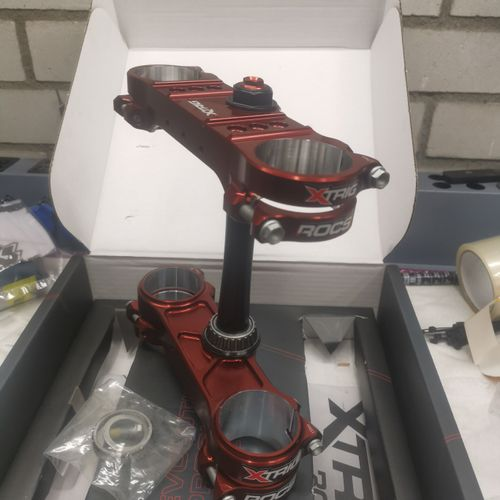 New XTRIG ROCS PRO Triple clamps for KYB forks - KTM HSQ GAS