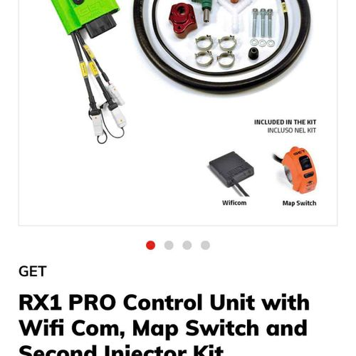 GET RX1 PRO Control Unit with Wifi Com, 2nd Injector, Map