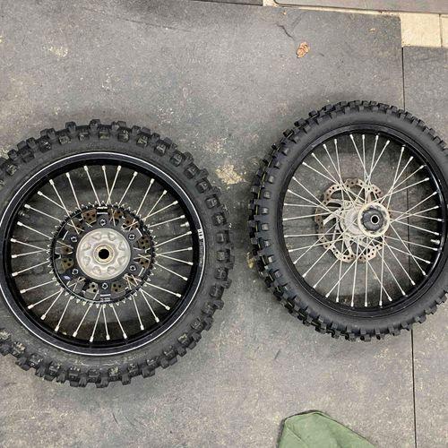 Honda CRF450R OEM Wheels
