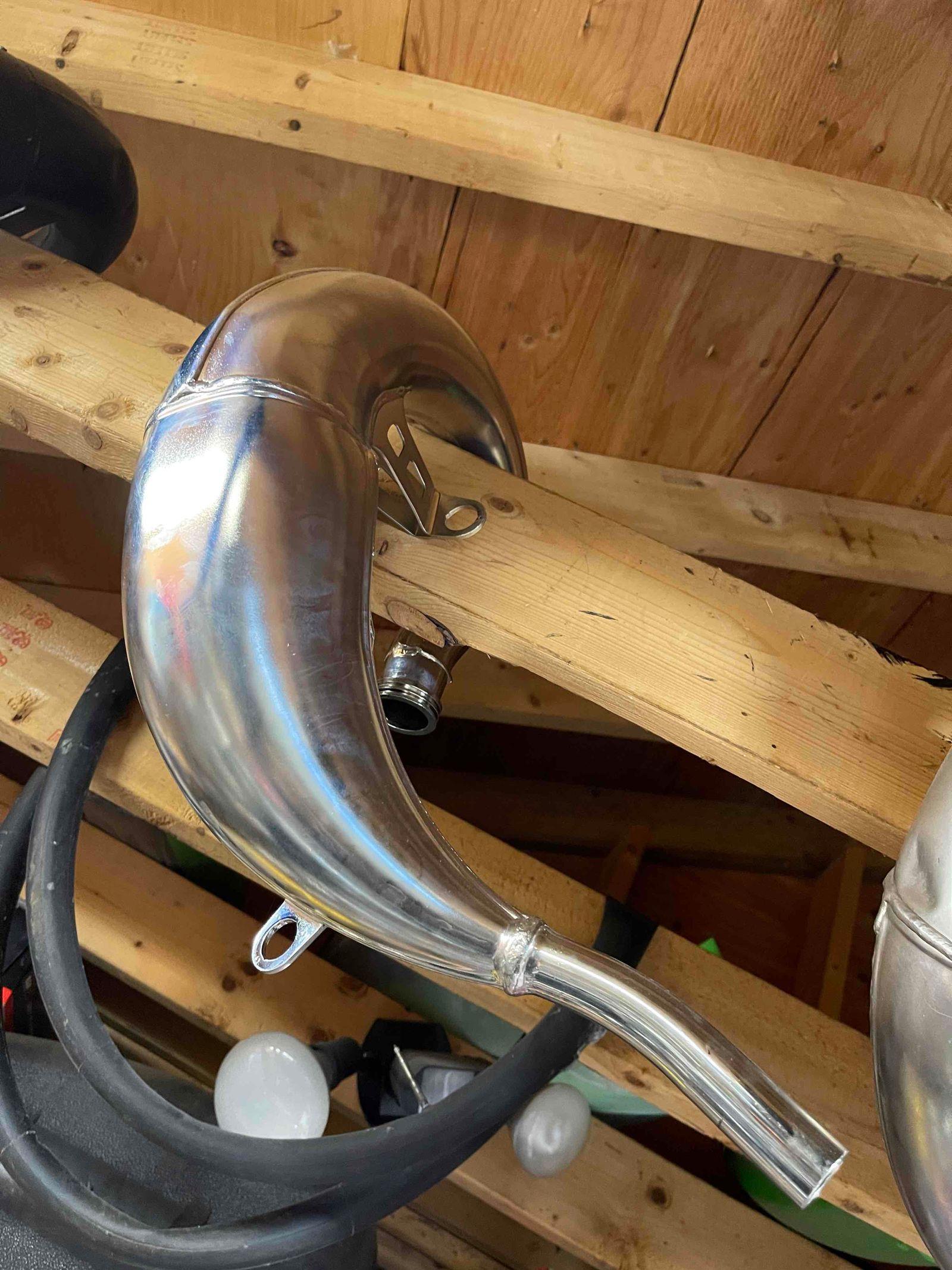 New Head Pipe 2021 Tc125/125sx