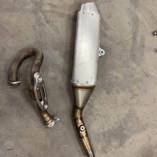 Kx 450 factory exhaust