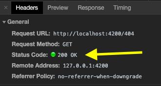 Screenshot of wacky response code in devtools