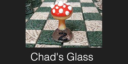 Chads Glass Logo