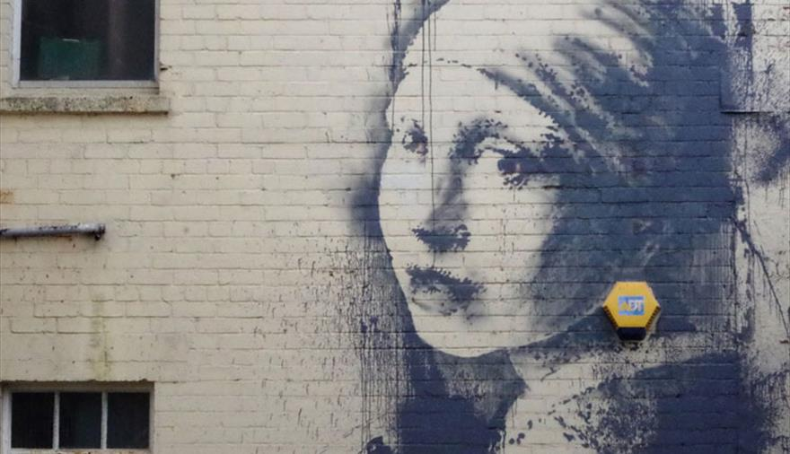 Banksy Walking Tour