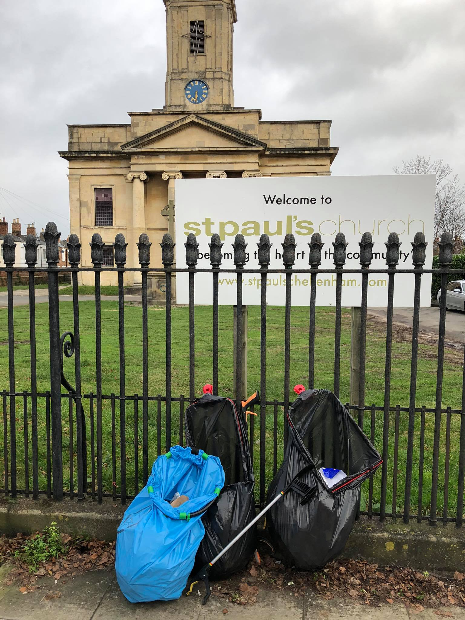 St Paul's Monthly Litter Pick