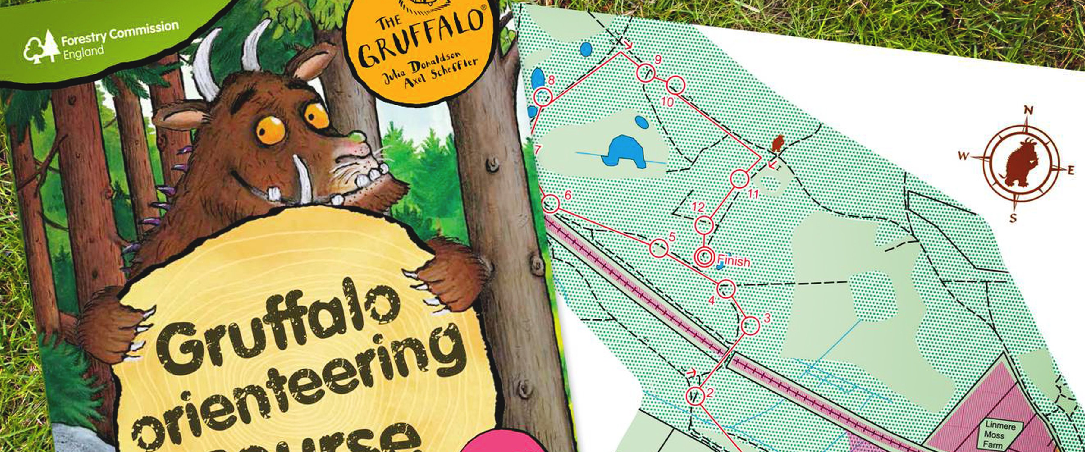 Gruffalo Orienteering at Mallards Pike