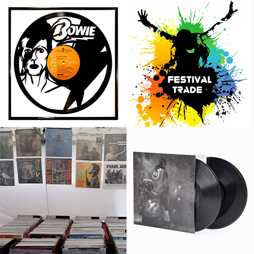 Festival Trade Records and Artwork on Vinyl