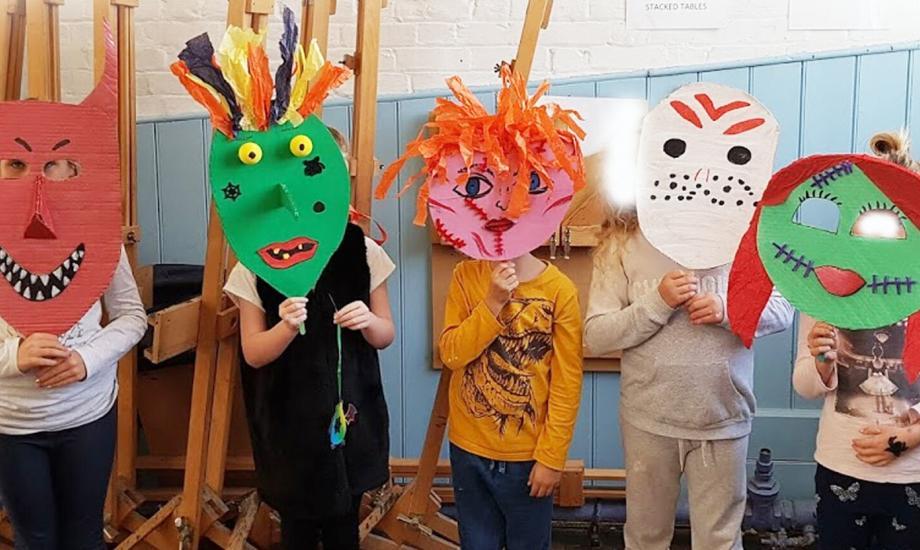 Halloween Mask Making