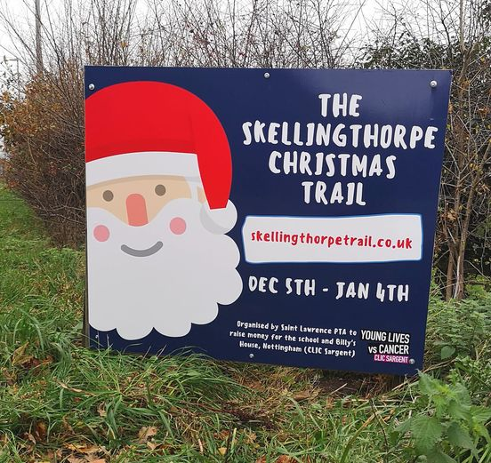 The Skellingthorpe Christmas Trail - The Great Santa Hat Hunt!