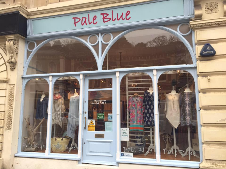 Pale Blue Clevedon and Pale Blue Wedmore
