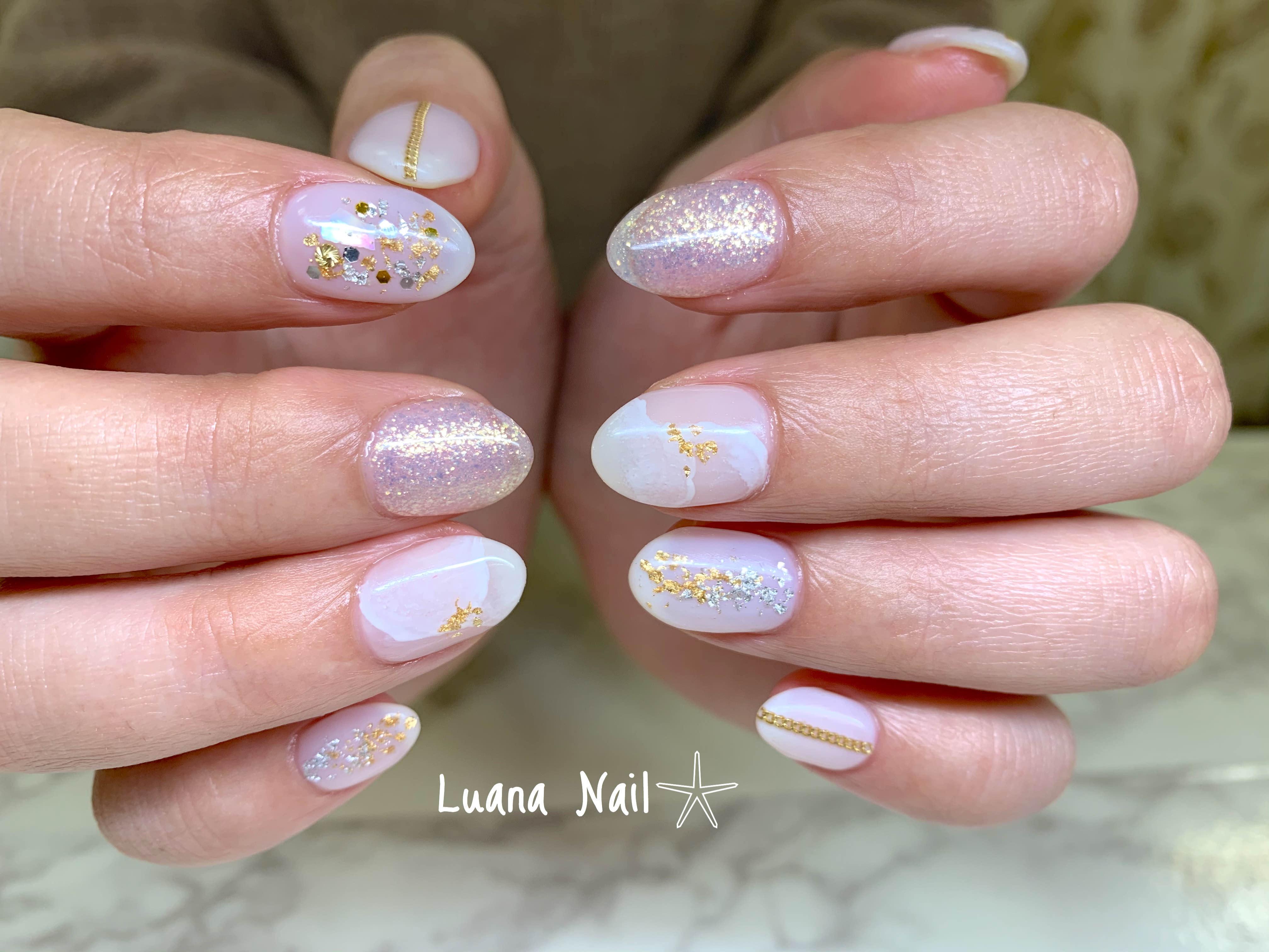 treatment Luana Nailのネイル