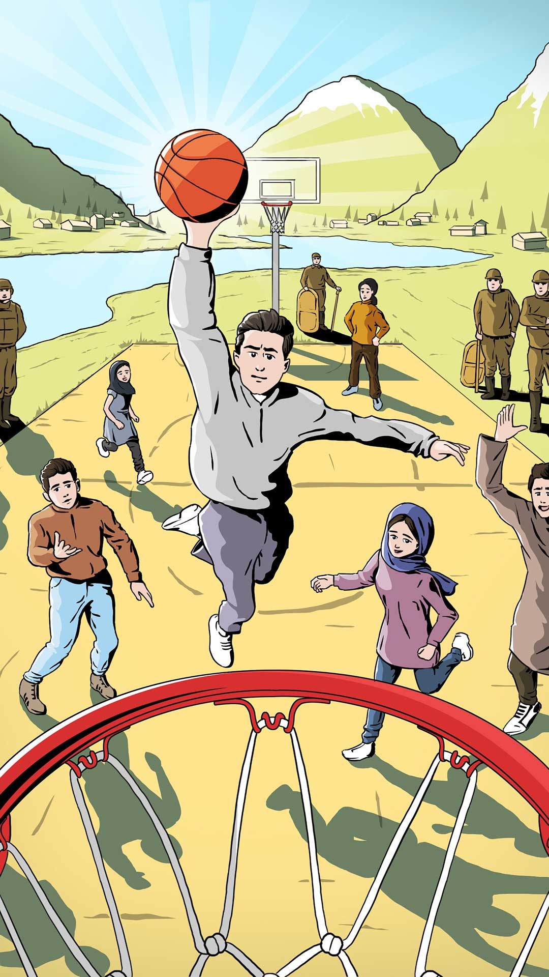 Balling in Kashmir - For the Love of the Game