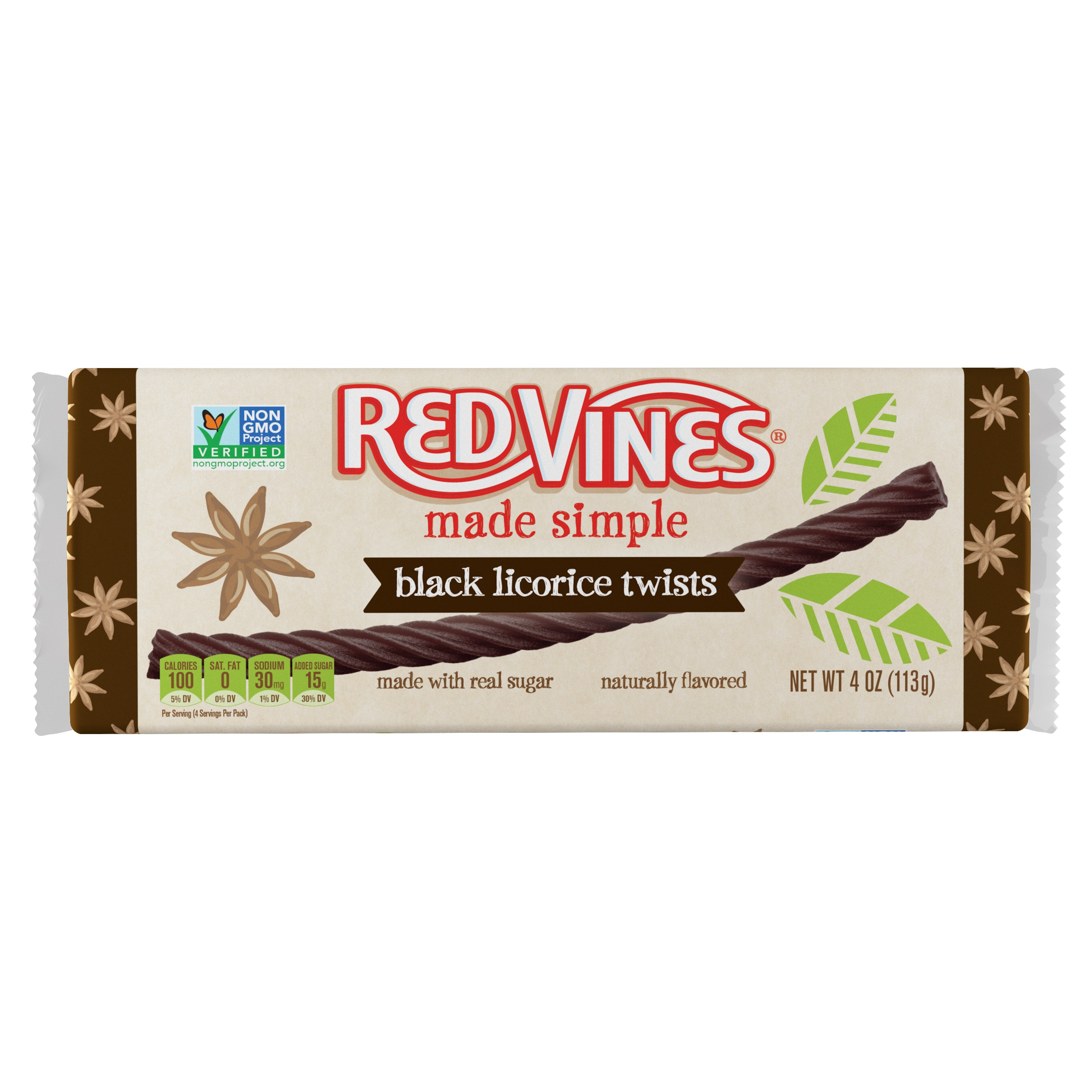 Red Vines Made Simple Black Licorice