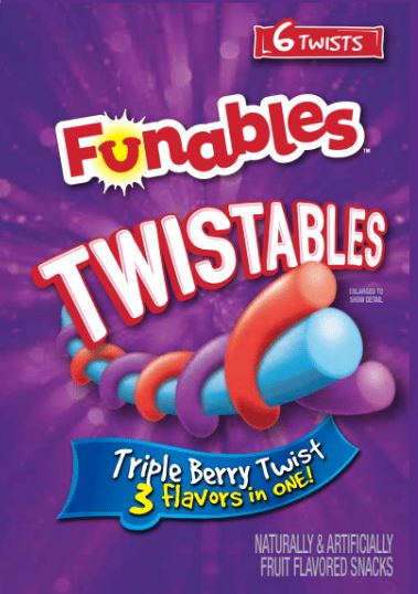 Funable Twistables Fruit Snack Ropes