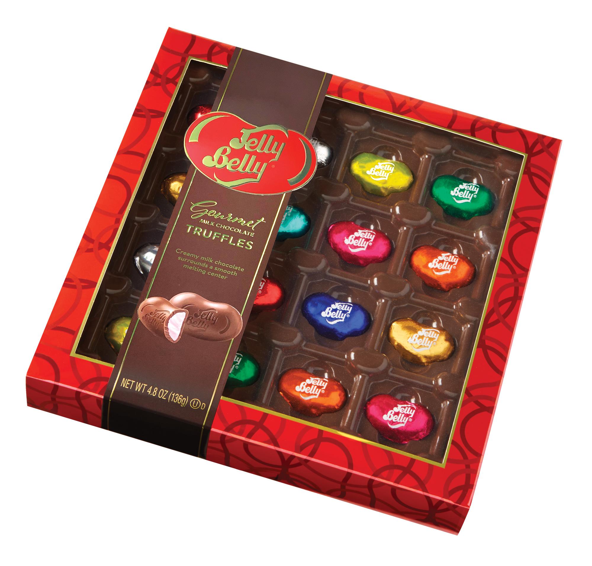 Gourmet Milk Chocolate Truffles Gift Box