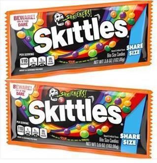 Skittles Shriekers Singles