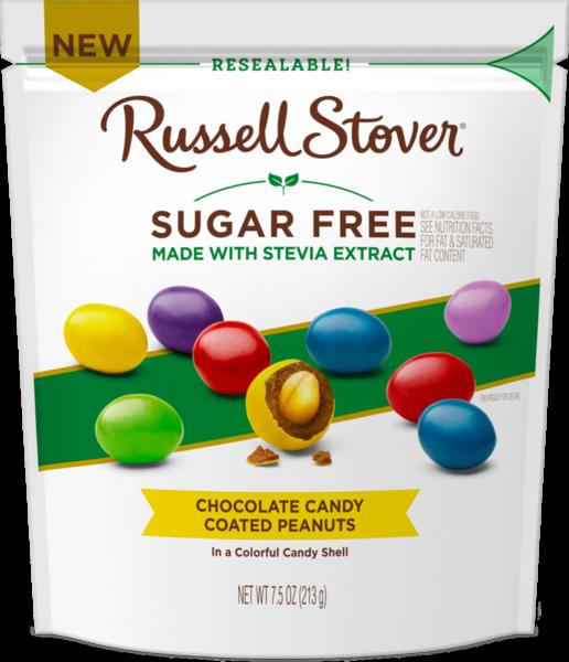 Sugar Free Chocolate Candy Coated Peanuts